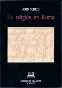 Portada de La religión en Roma