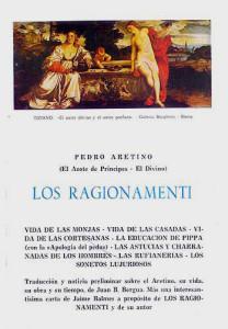 Carátula Los Ragionamenti
