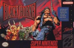 Caja de Blackthorne SNES